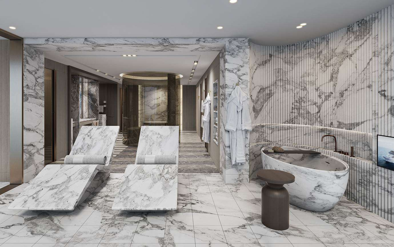 Regent Seven Seas Grandeur Bathroom