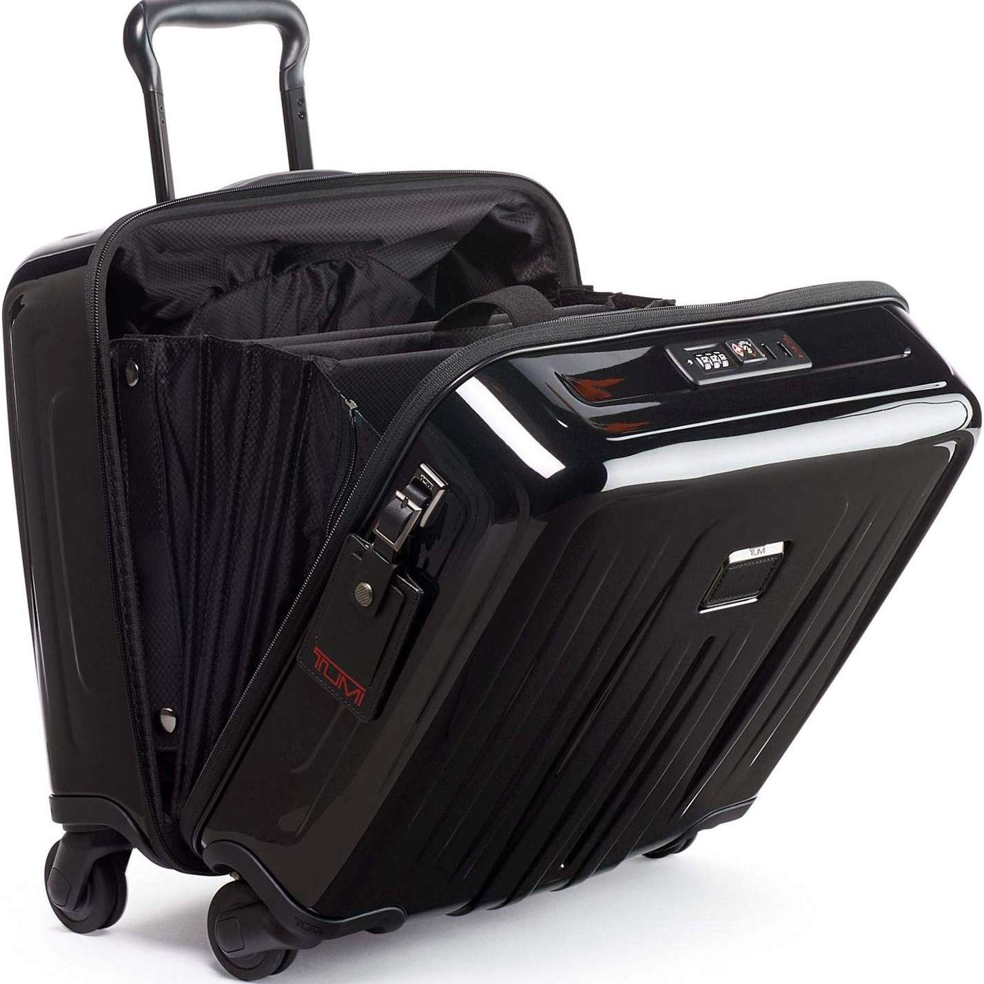TUMI - V4 Compact Carry-on Wheeled Laptop Briefcase