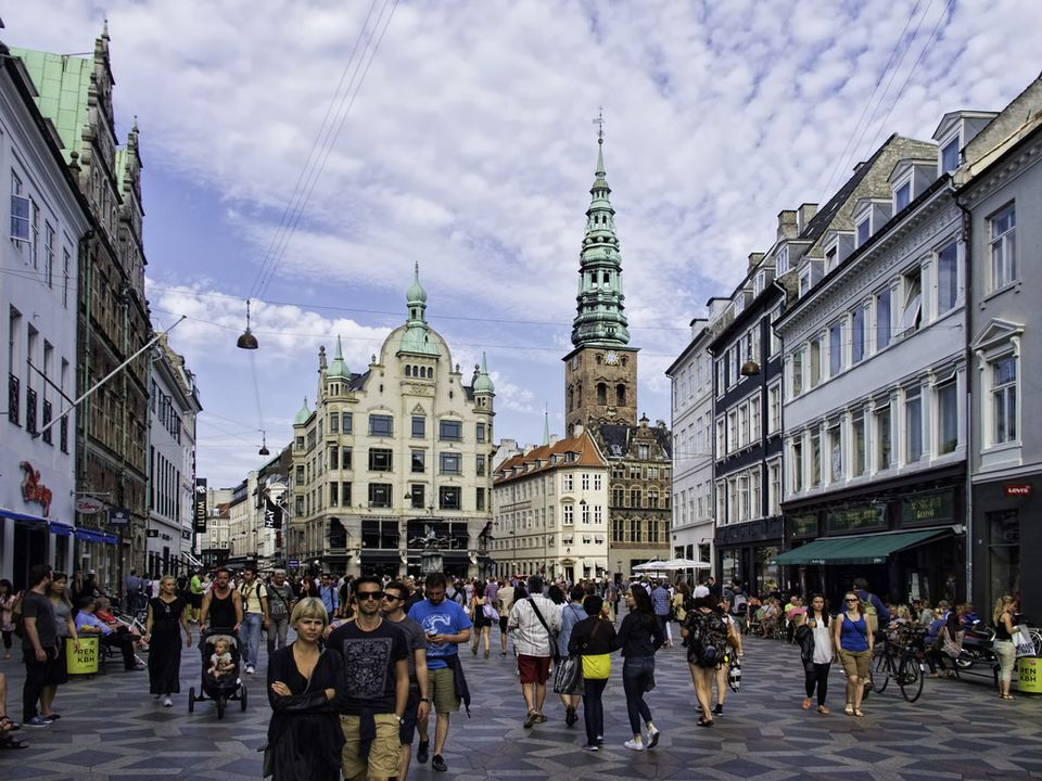The Strøget in Copenhagen