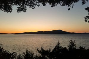 A lake near Seattle