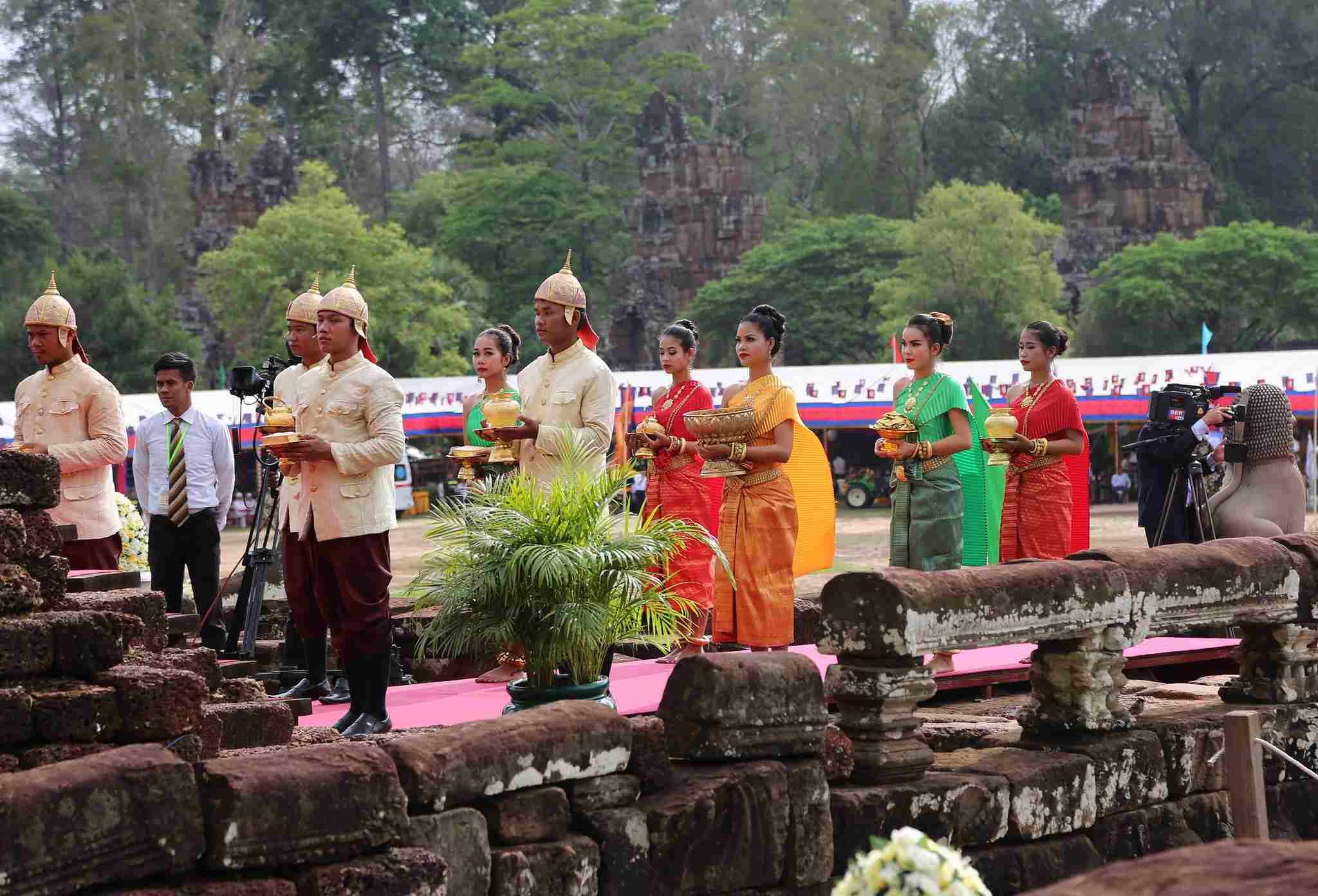 Royal Plowing Ceremony in Siem Reap