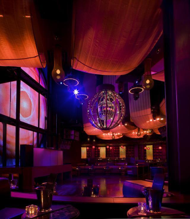 Inside of Marquee Nightclub
