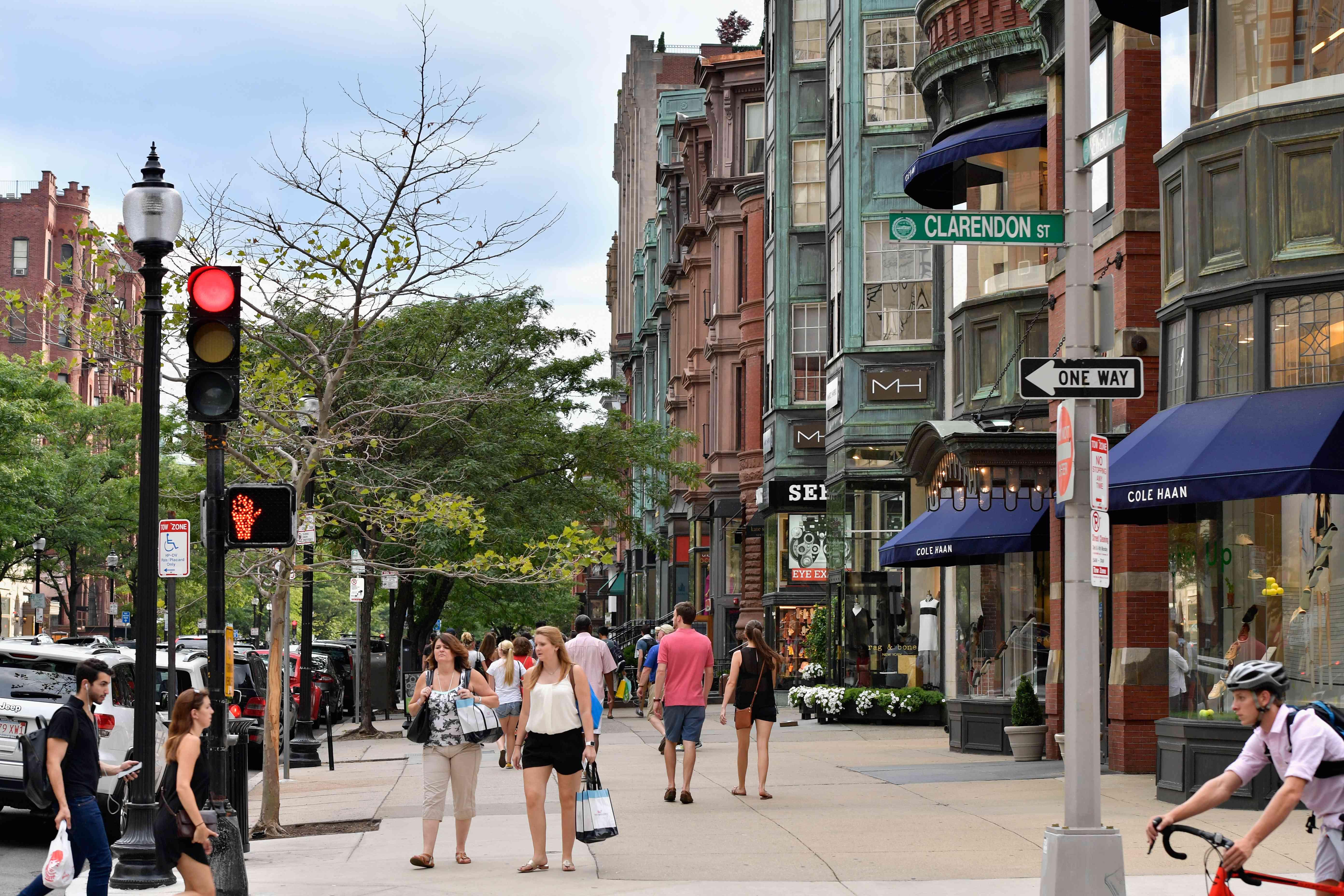 Exteriores y lugares de interés de Boston