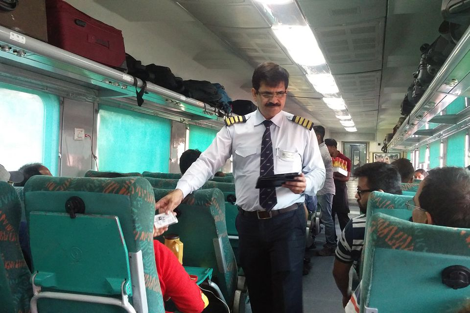 Indian Railways ticketing