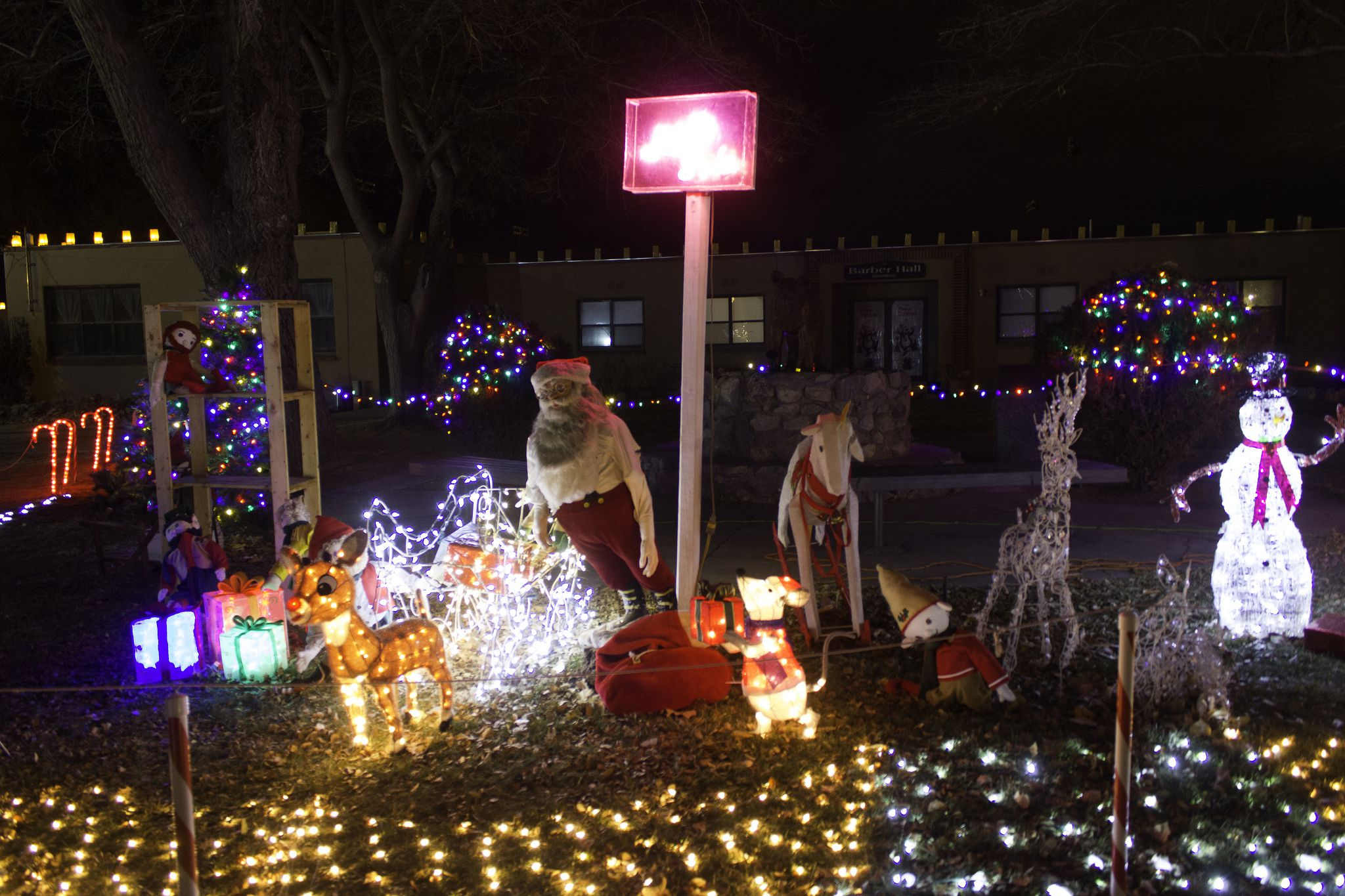 The Amazing Bugg Christmas Lights Display