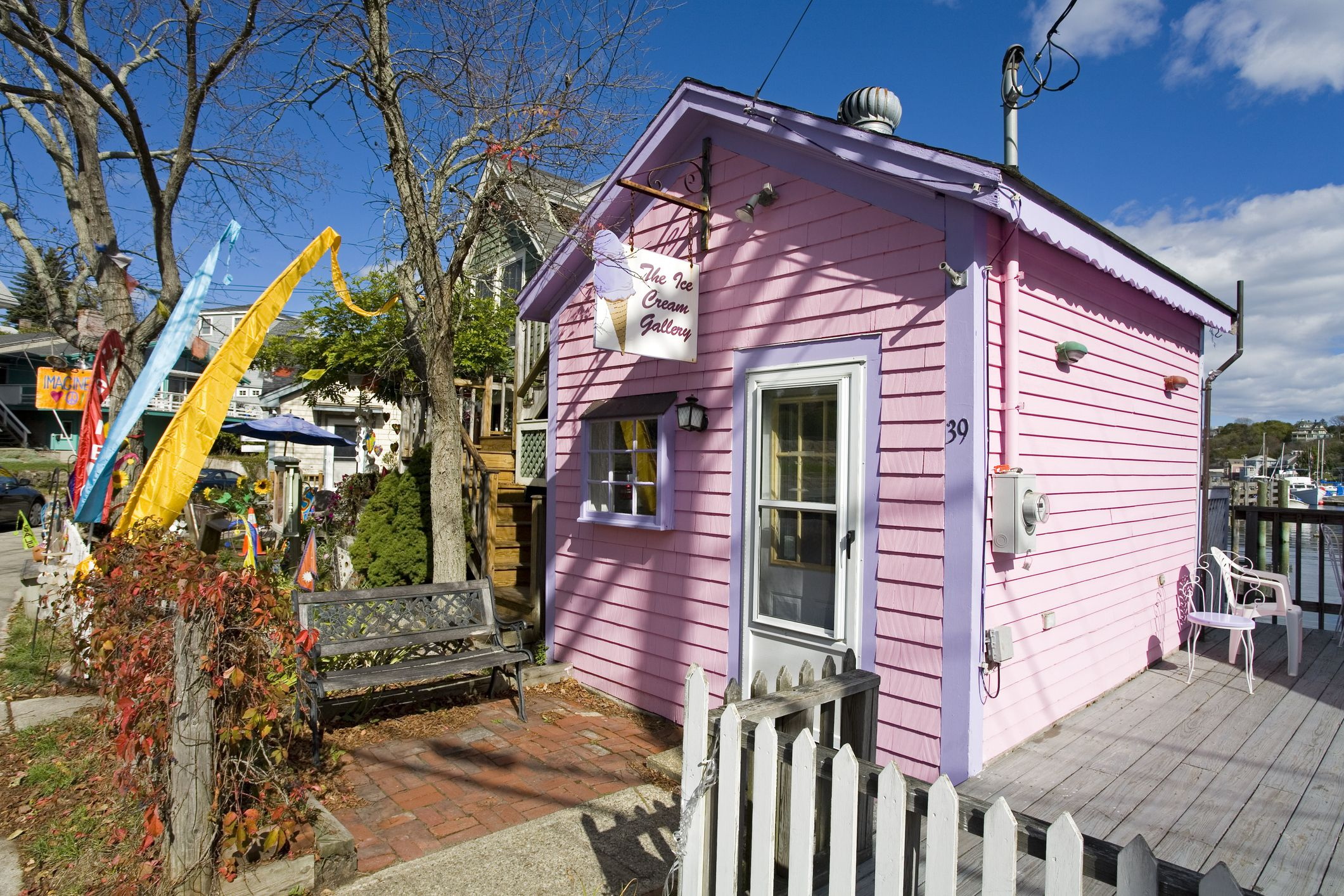 Ice Cream Gallery at Rocky Neck Art Colony.