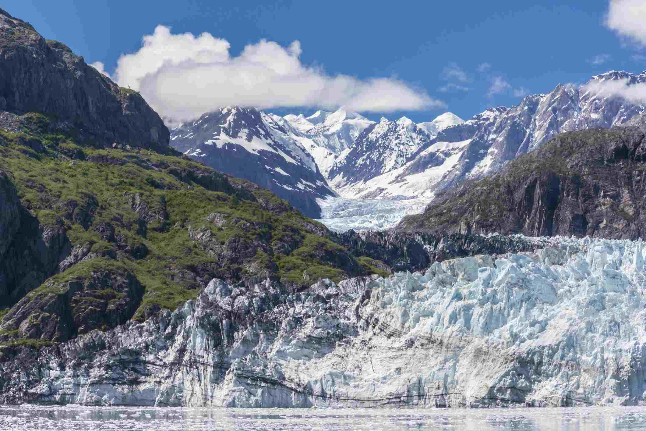 Margerie Glacier, Glacier Bay National Park, Southeast Alaska, Summer