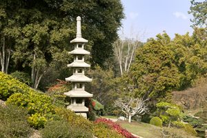 The Japanese Garden at the Huntington Library and Botanical Gardens