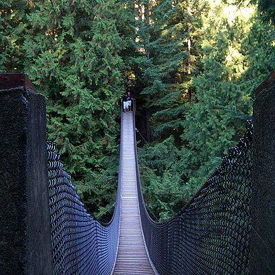 Puente colgante de Lynn Canyon