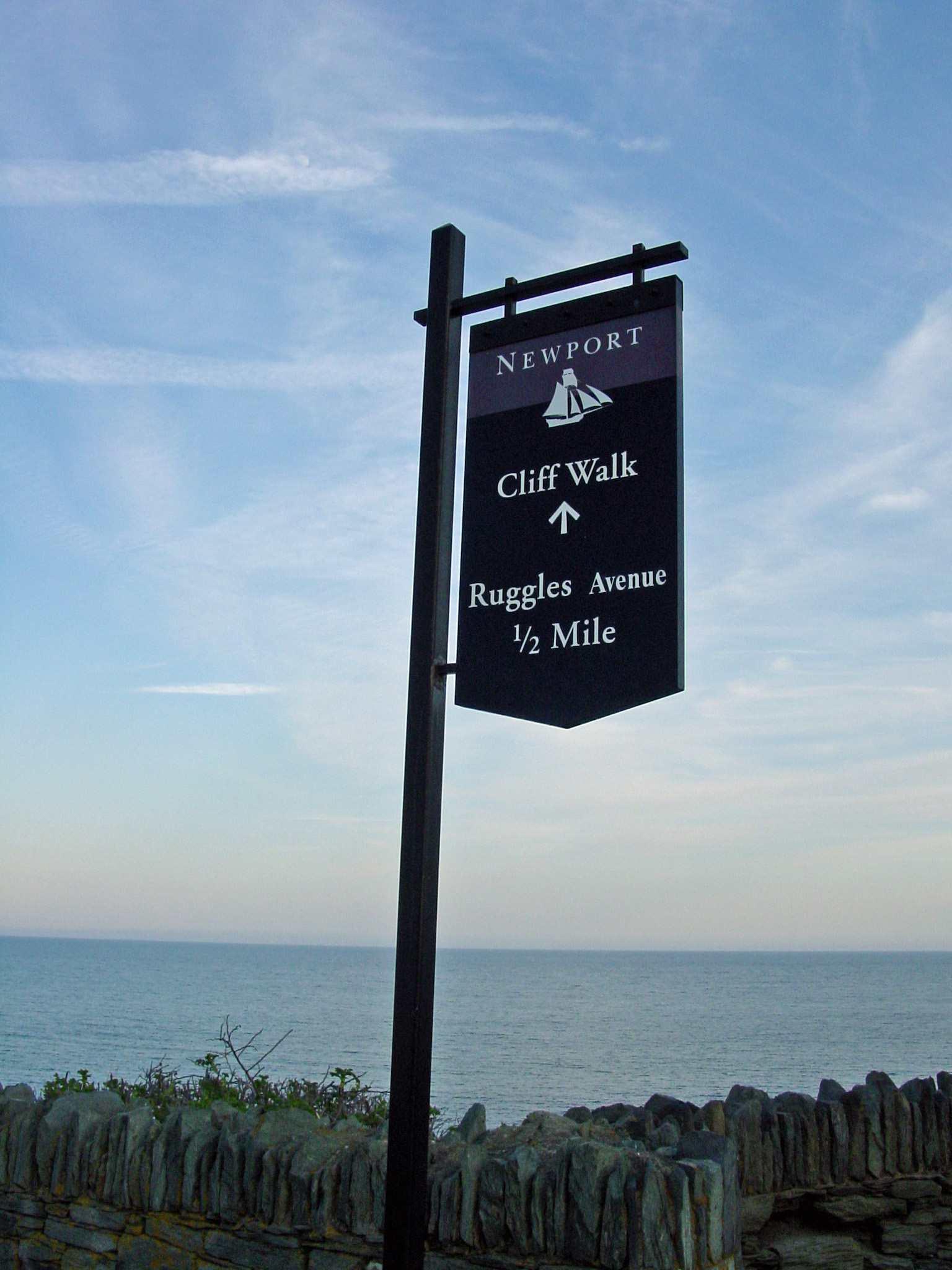 Newport Cliff Walk Picture