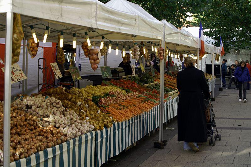 vegetable market in york