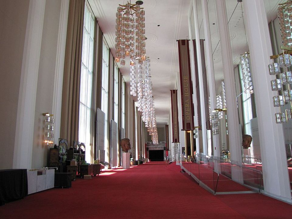 Grand Foyer Kennedy Center : John f kennedy center photos
