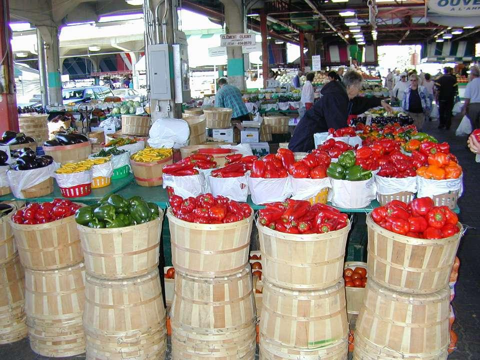 The Jean Talon Market is in Montreal, close to the Jean Talon Metro station.