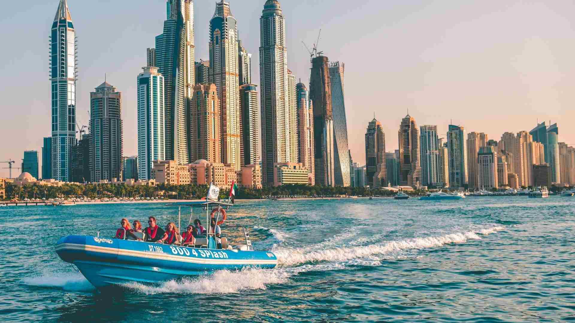 Splash tours boat in the gulf