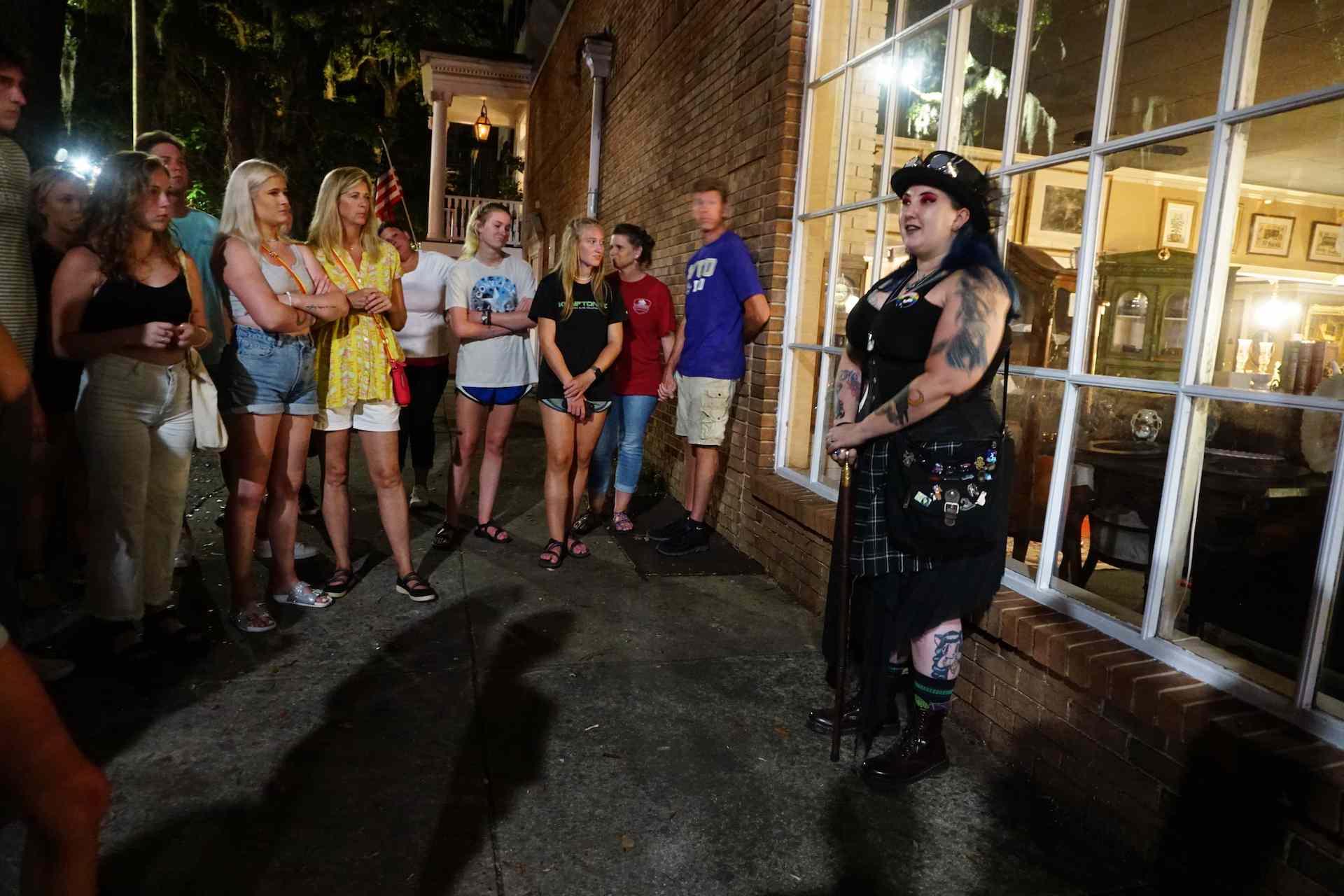 Haunted Savannah Tour