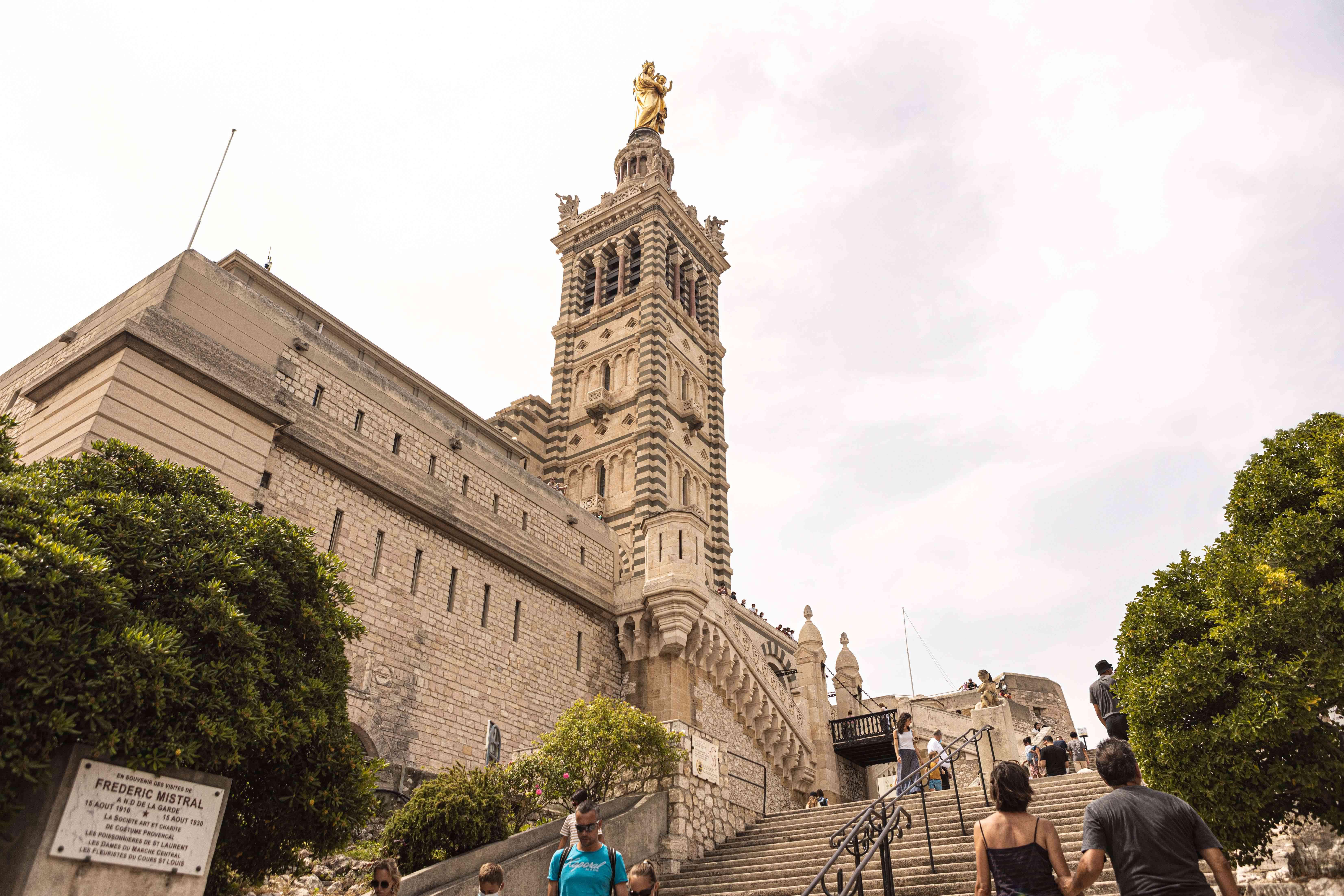 Exterior of Notre Dame de la Garde