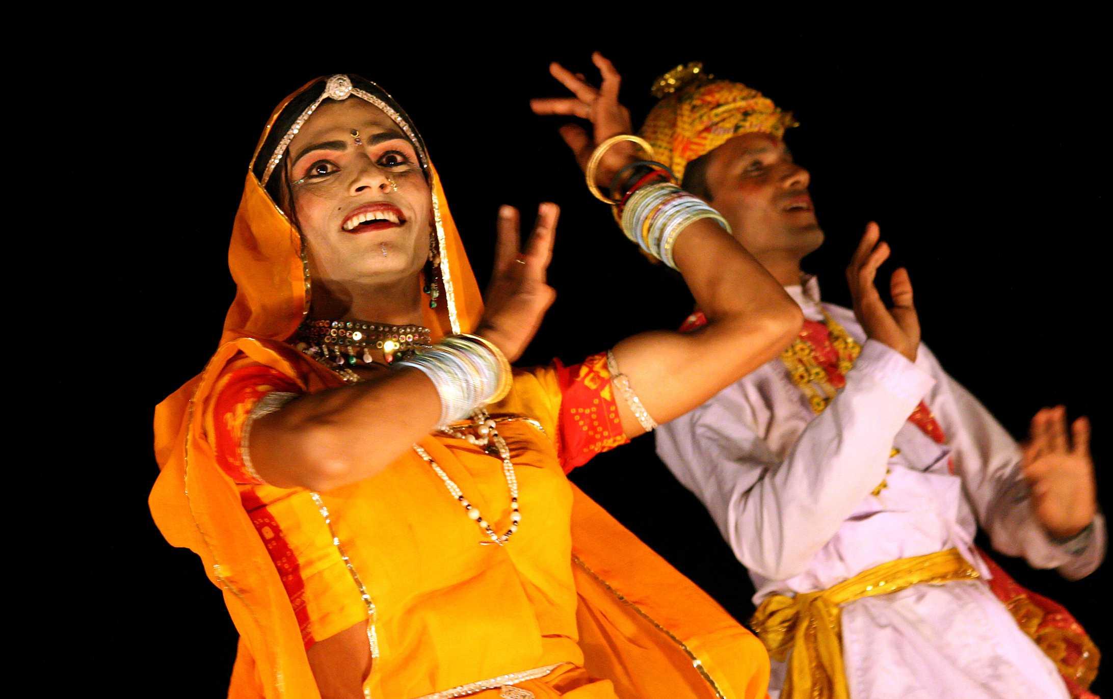 Performers at Bundi Utsav.