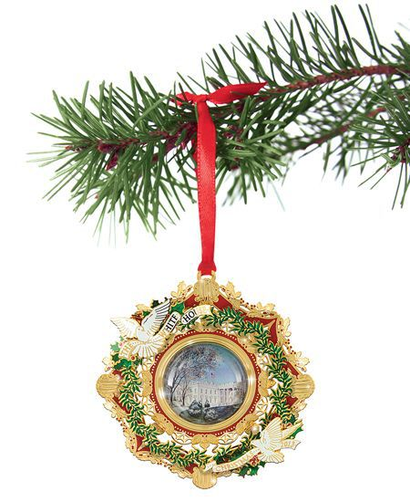 White House Christmas Ornament.Annual White House Christmas Ornaments