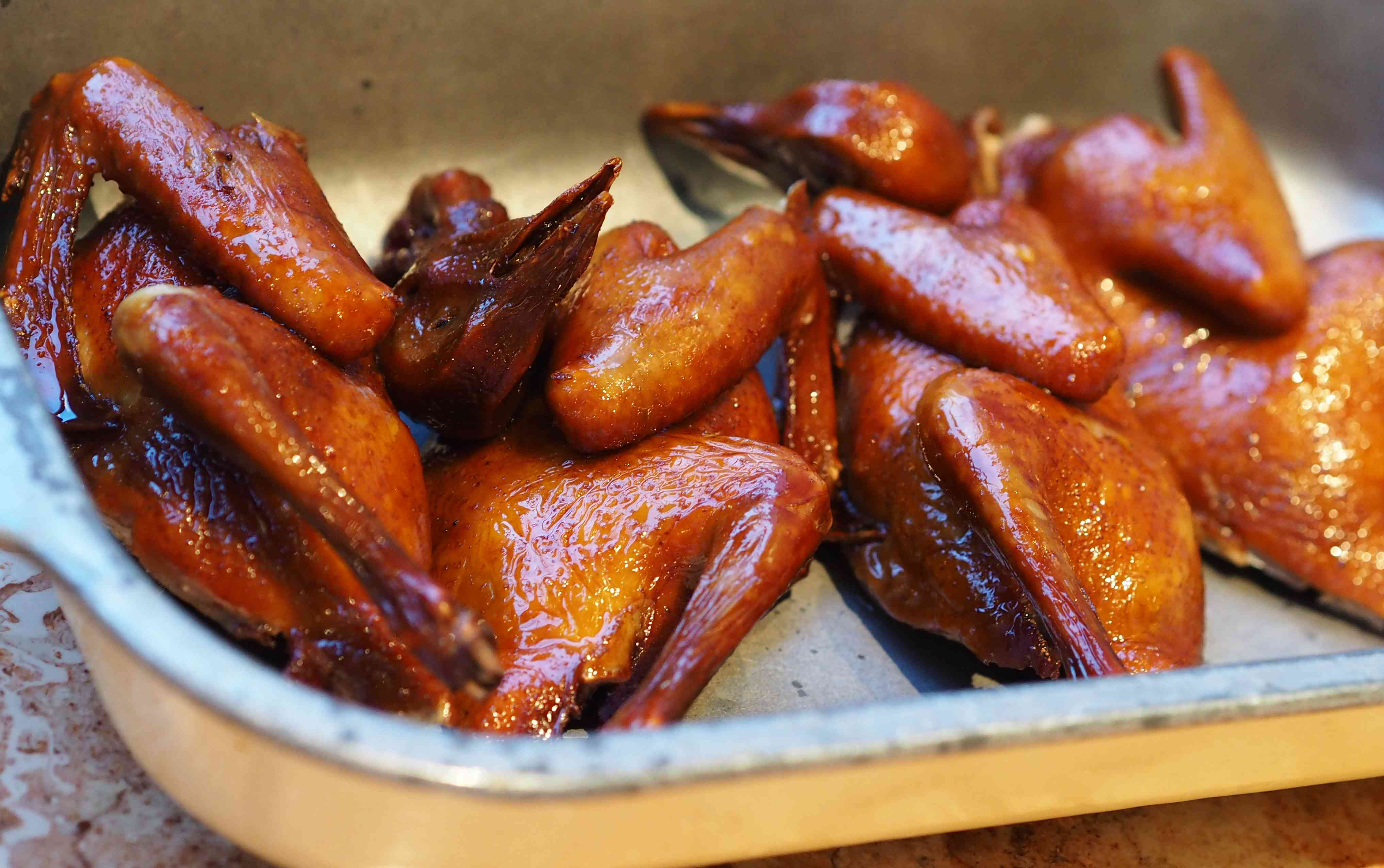 Chinese fried pigeon