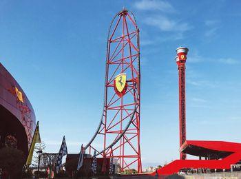 Abu Dhabi S Ferrari World Theme Park