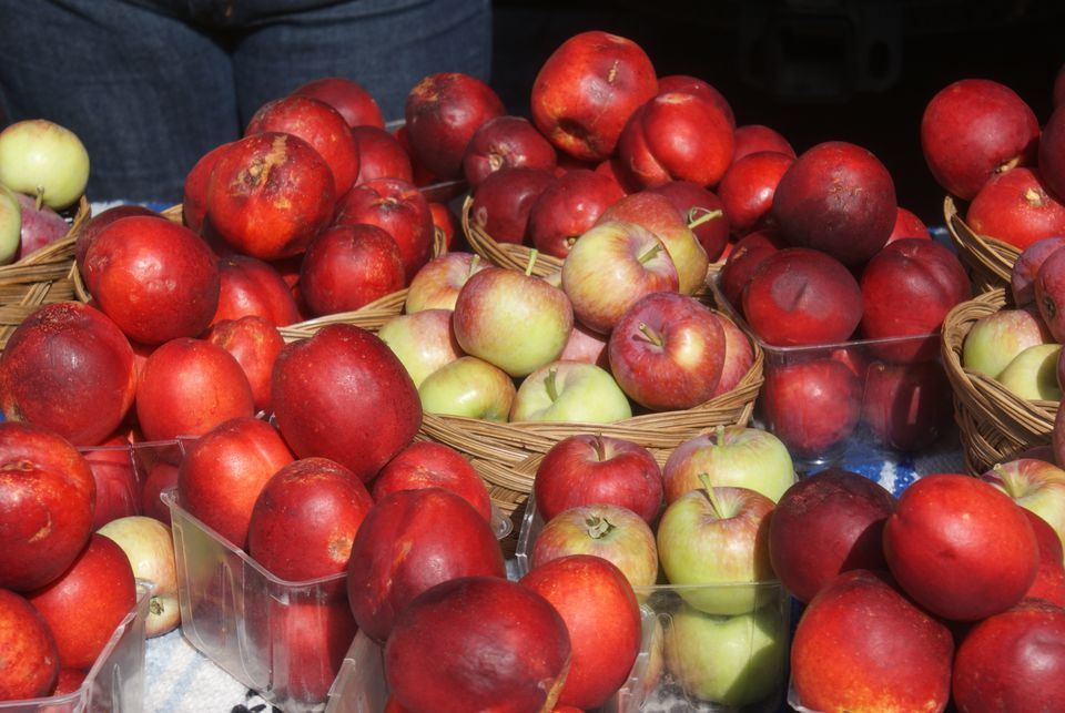 Apples at Farmer's Market