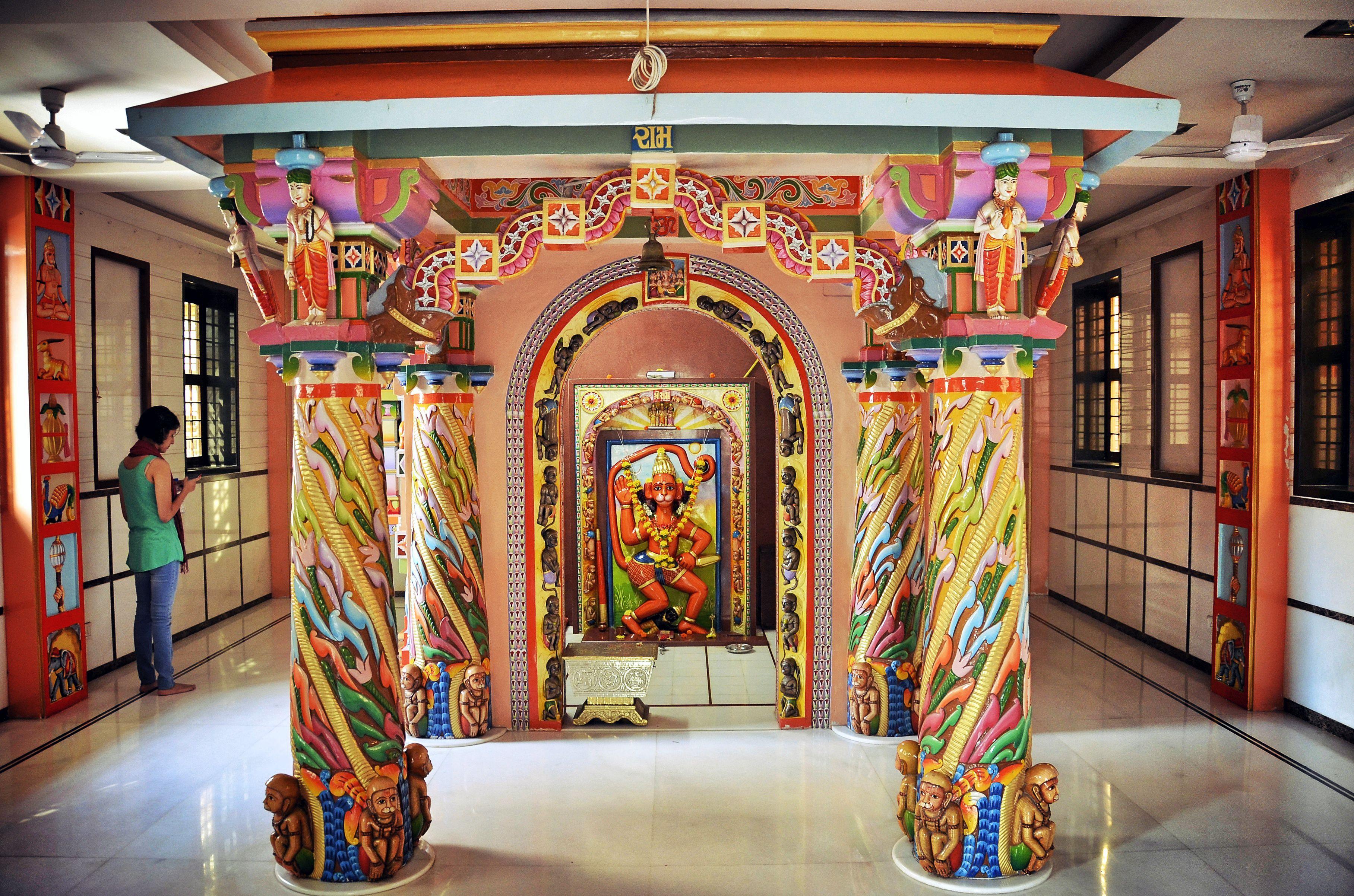 Hanuman-Tempel.