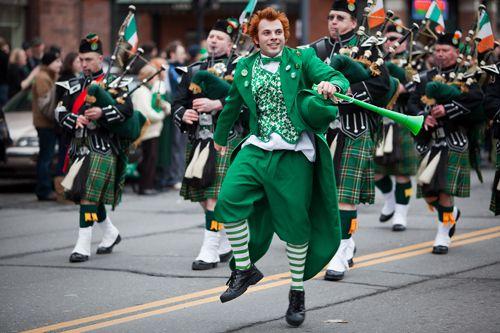 st patrick's day parade celticfest vancouver