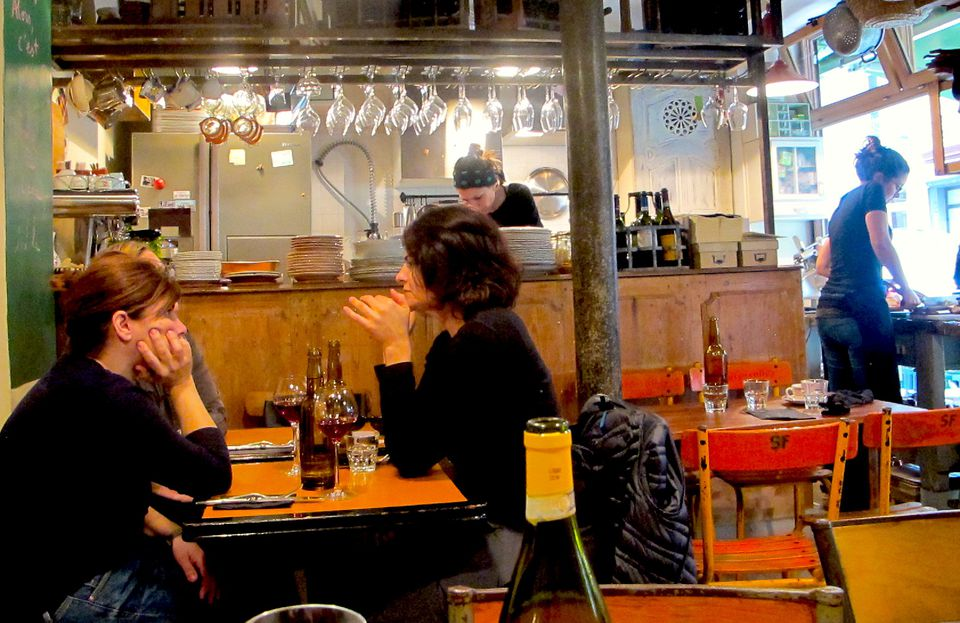 Come a Casa is a tiny Italian bistro in Paris with some of the best homemade cooking around.
