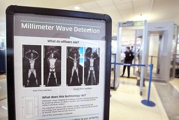 TSA Security Body Scanning Machines