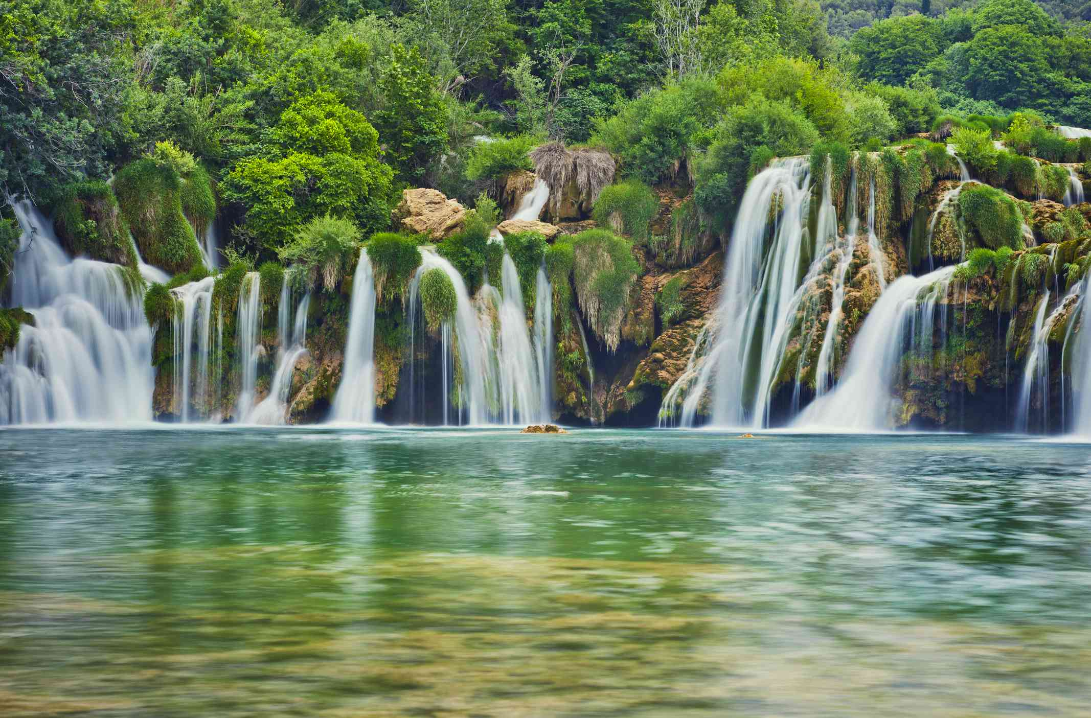 Krka river waterfalls