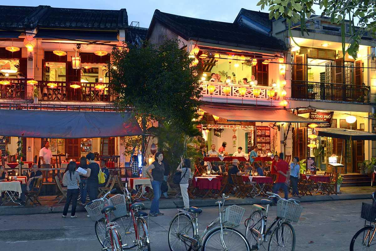 Evening over Hoi An Old Town, Vietnam