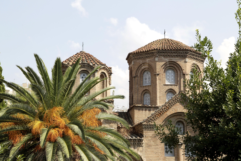 The Byzantine Church of Panagia Chalkeon, 1028 AD, Thessaloniki, Greece