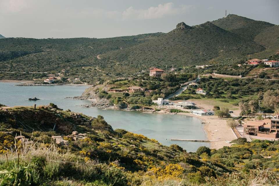 Cape Sounion near Athens, Greece