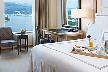 Room at the Pan Pacific Hotel Vancouver