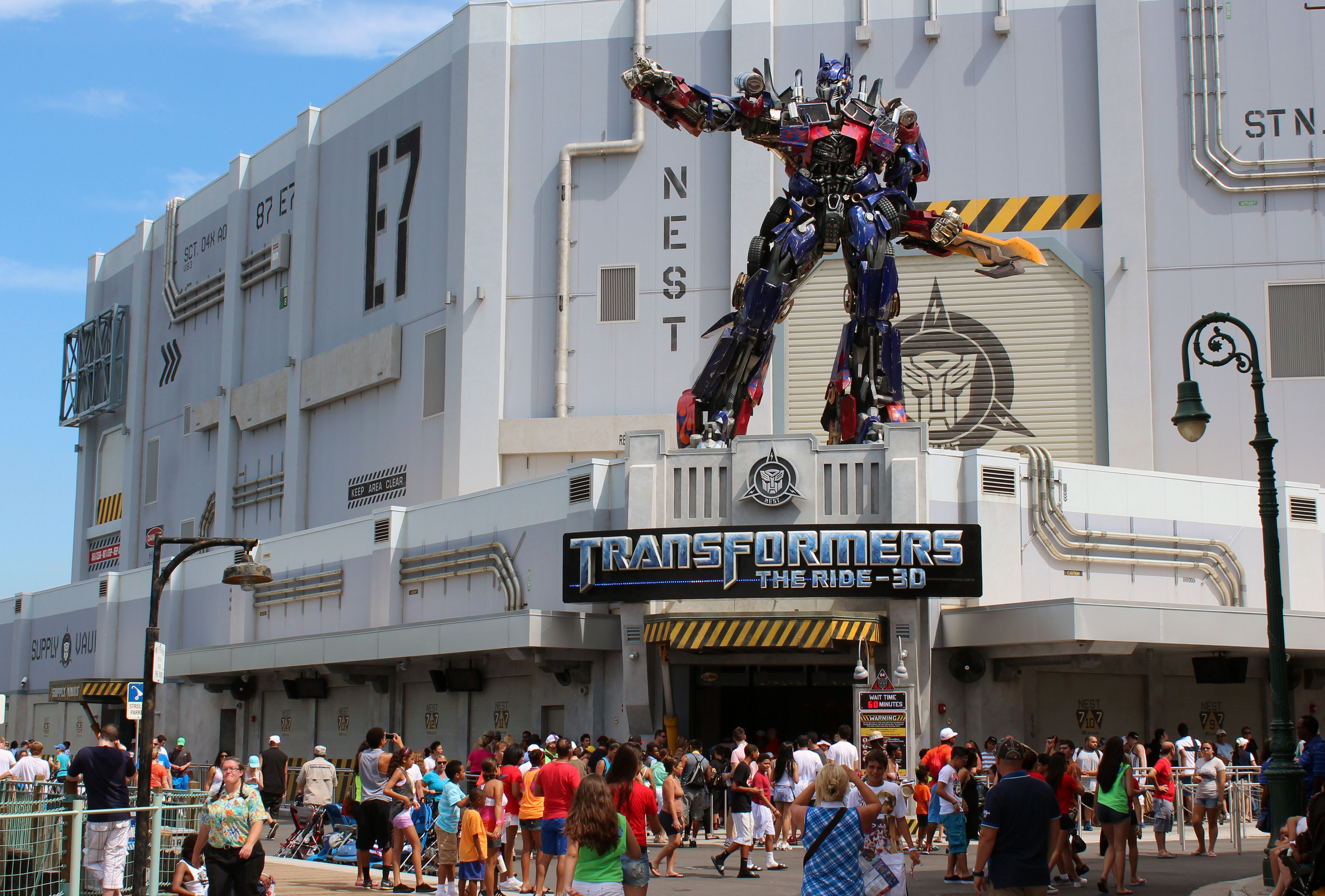 Transformers Universal Orlando