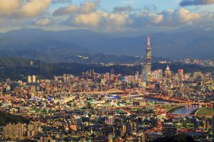 taipei city view, taiwan