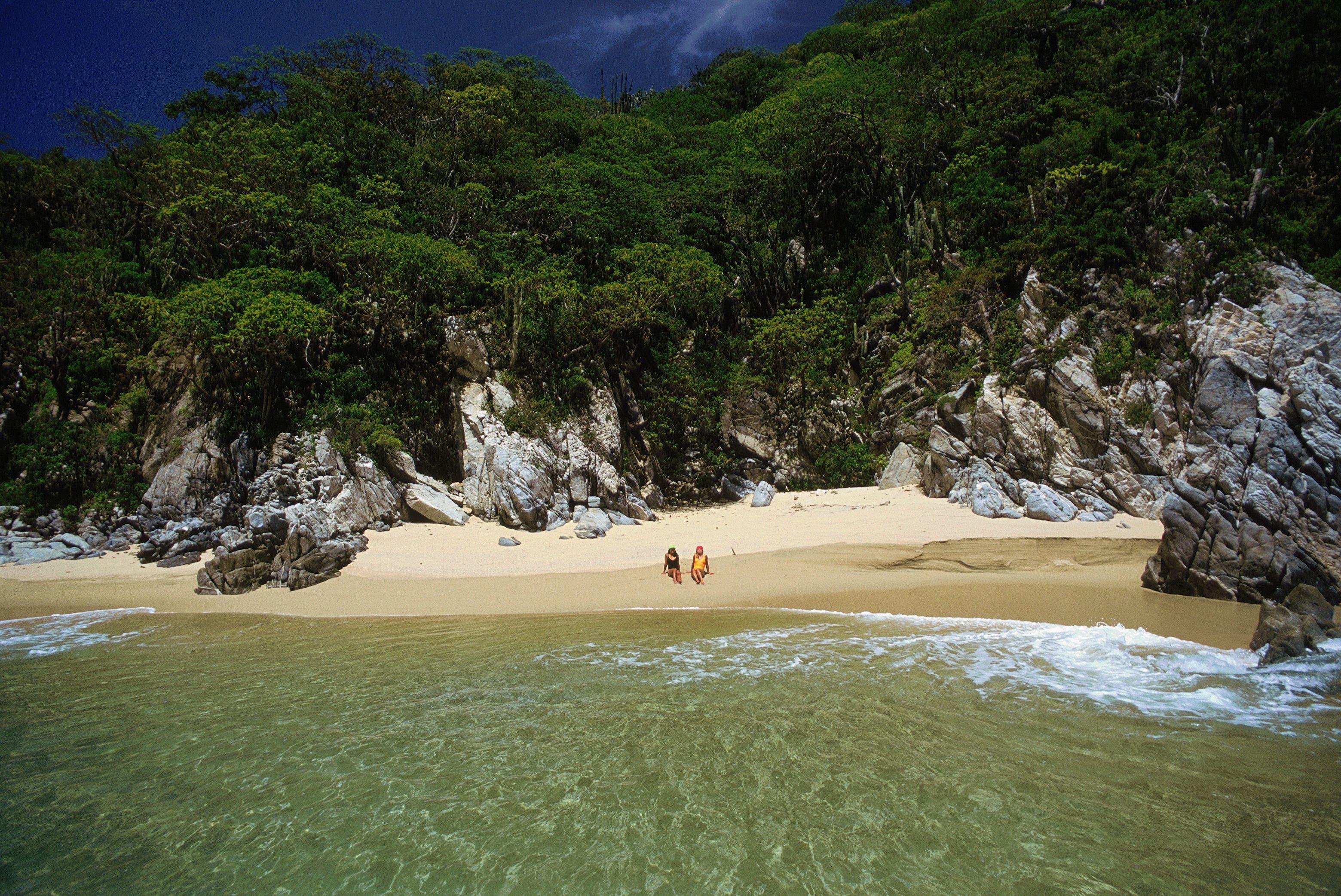 Beach at Huatulco