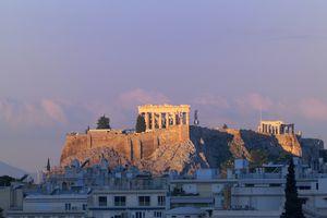 The Parthenon at the Acropolis
