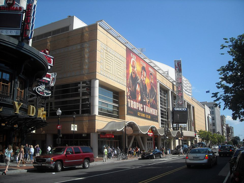 The Verizon Center in the Chinatown neighborhood of Washington, D.C.