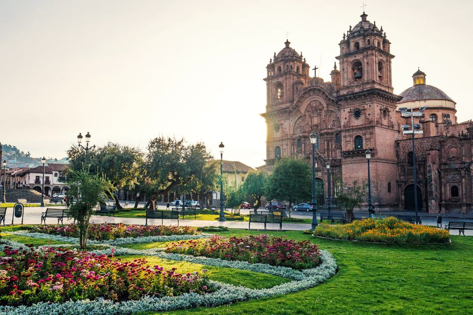 The Plaza de Armas of Cusco, Peru