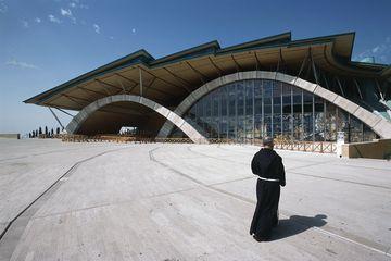 New church of Padre Pio