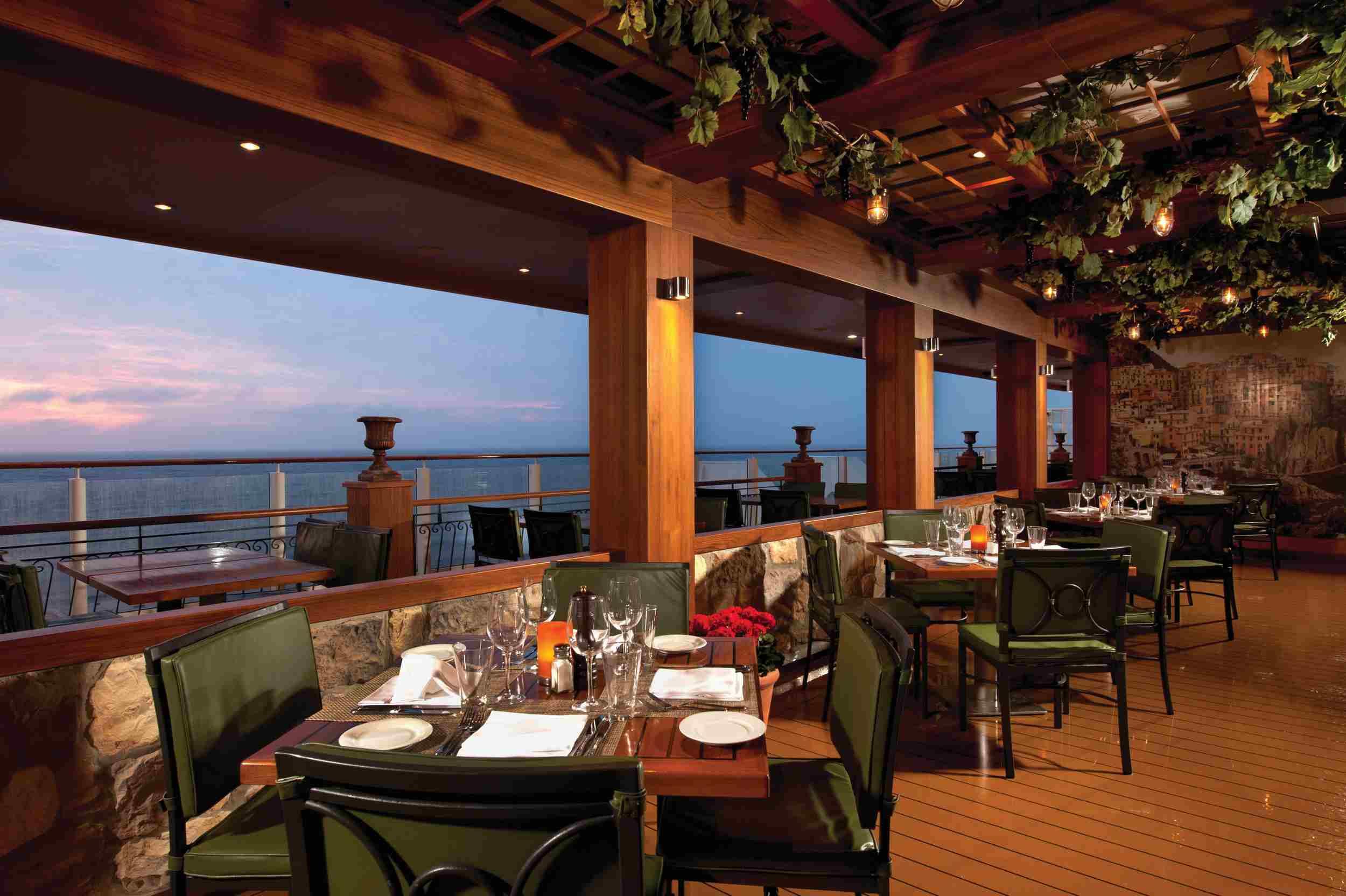 La Cucina Italian Restaurant on the Norwegian Getaway