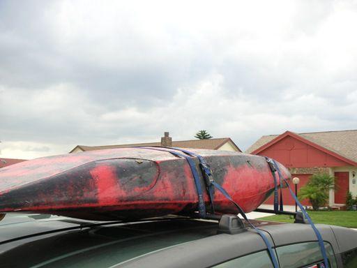 Kayak Roof Rack Step 4