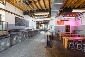 The interior of the tap room at Other Half