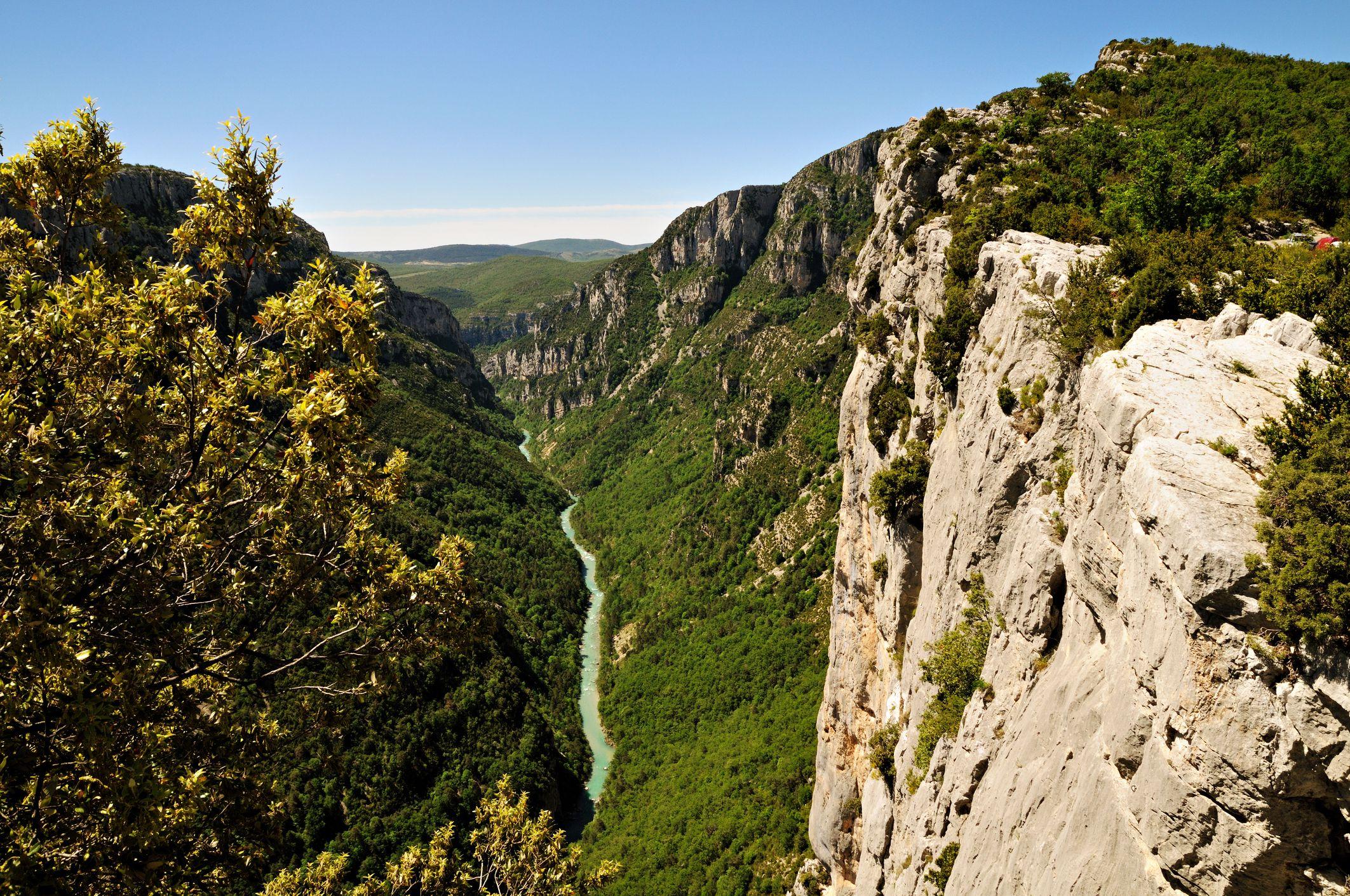 Belvedere de la Carelle in the Verdon Gorge - Provence - France
