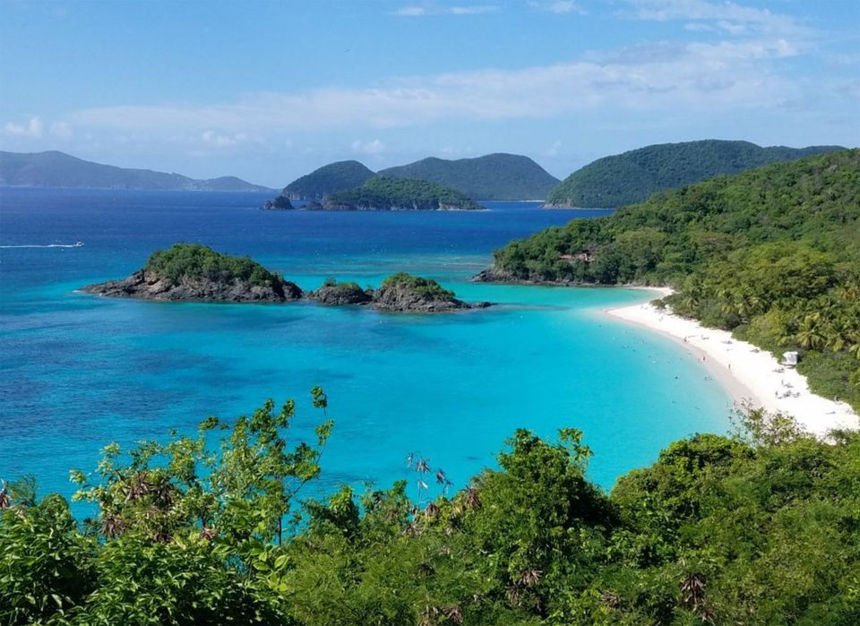 Trunk Bay in St. John, USVI