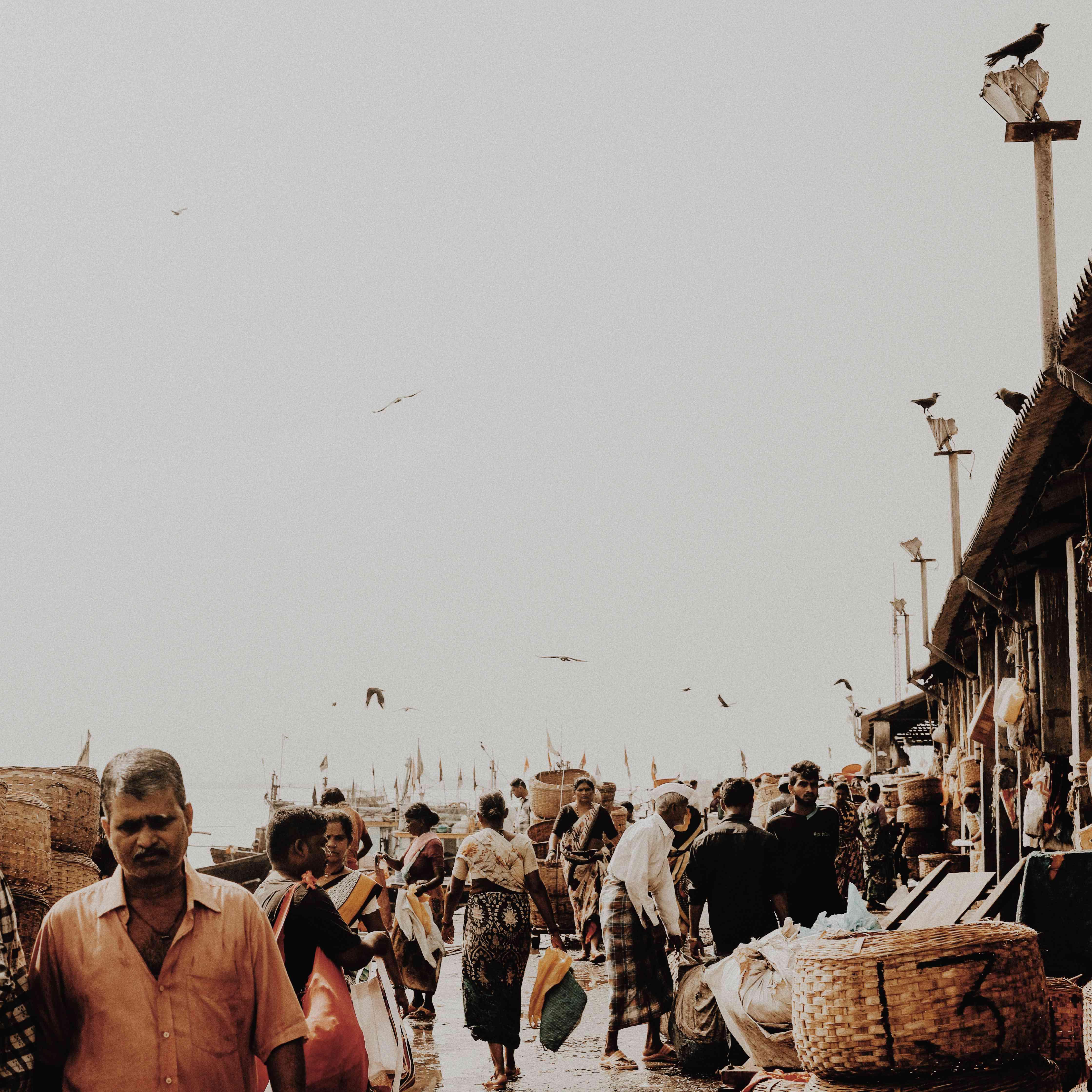 Colaba Fish Market