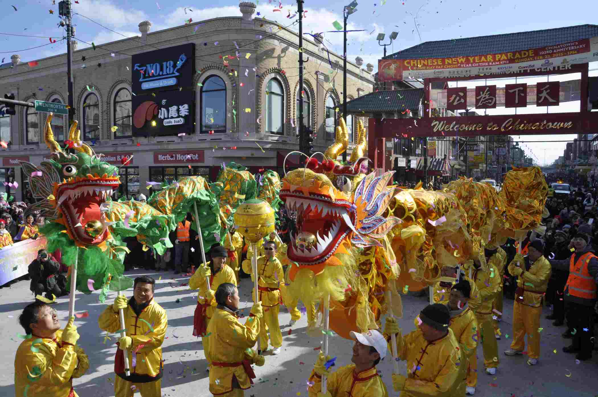 Chicago Lunar New Year Parade