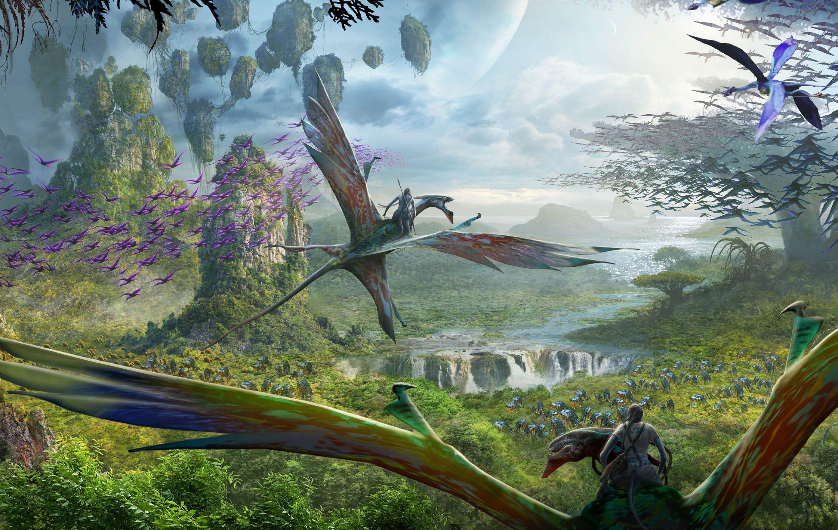 Viaje en el vuelo del pasaje de Avatar