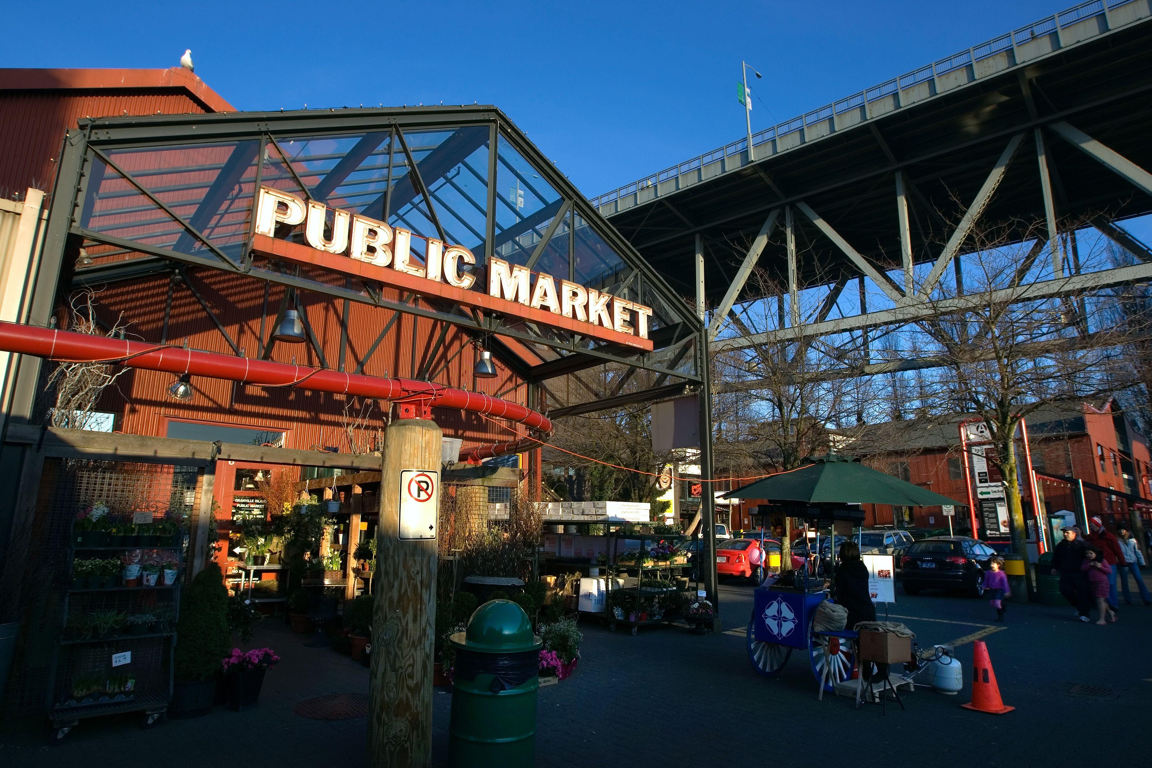 Prawn Sale Market Vancouver Island